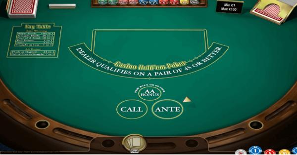 Mengenal Permainan Casino Hold'em dan Tipsnya